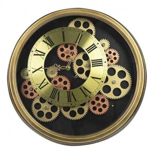 Reloj maquinaria moldura...
