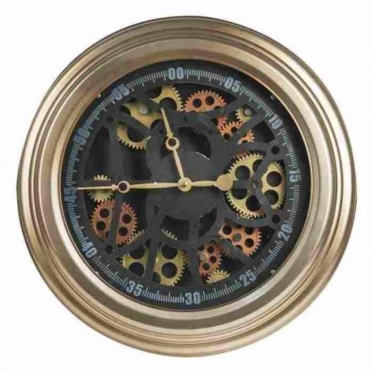 Reloj marquinarias bronce...