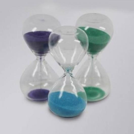 Reloj arena verde 3 min