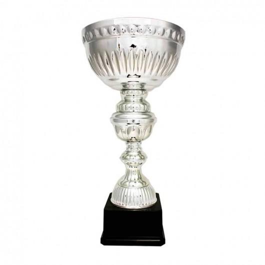 Copa plateada latón 47 cm