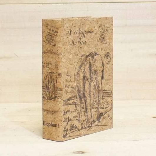 Caja Libro Elefante 18 cm