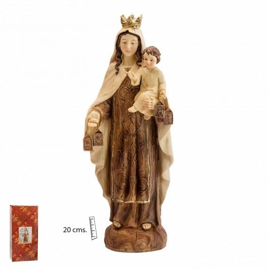 Virgen del Carmen Madera...