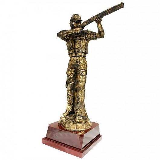 Trofeo Tiro - Tirador oro...