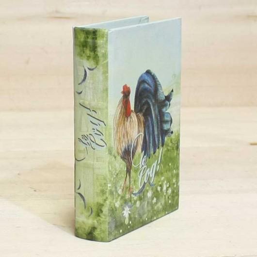 Caja Libro Gallo verde...