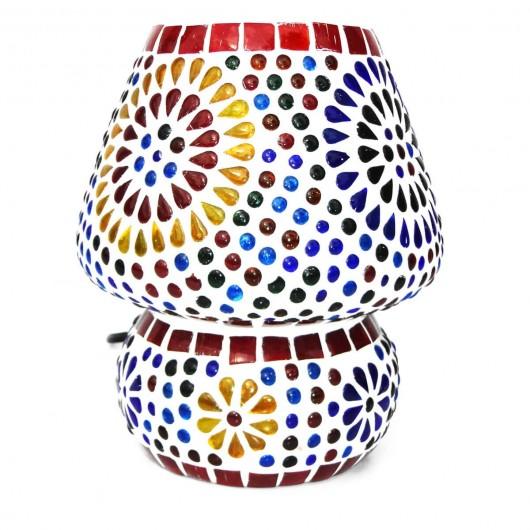 Lámpara seta mosaicos 18cm