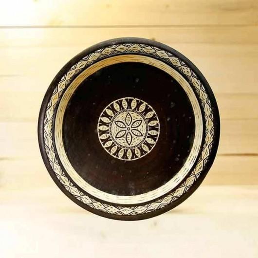 Plato Étnico de madera 38 cm