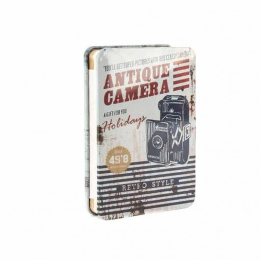 Libreta Antique Camera