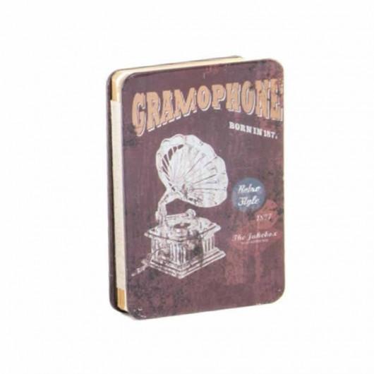 Libreta gramófono