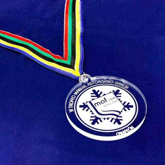 Medalla Metacrilato 8 cm