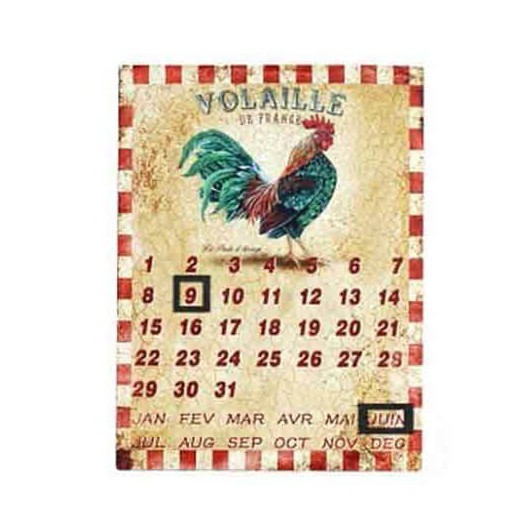 Calendario Gallo - Cuadros...