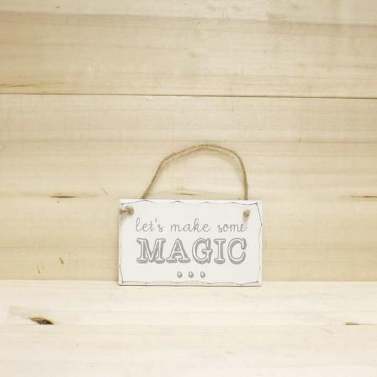 Placa Let's make some magic