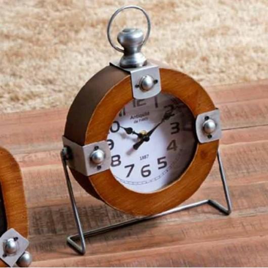 Reloj redondo Madera y...