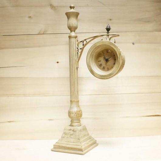 Reloj columna antiguo