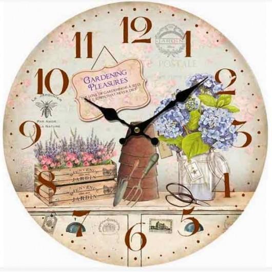 Reloj Garden Pleasures 34 cm