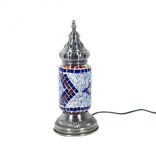 Lámpara étnica mosaicos 31cm