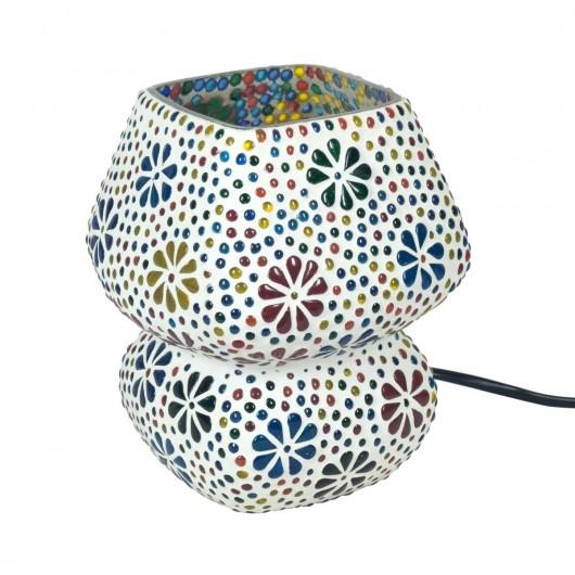 Lámpara seta mosaicos 17cm