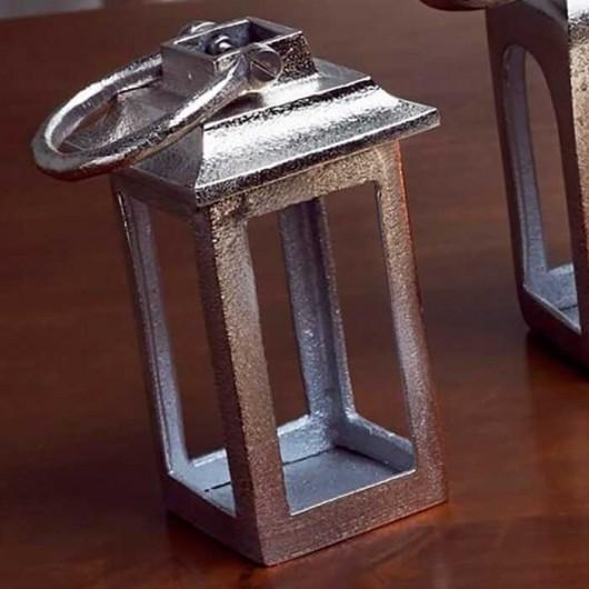 Farolillo aluminio Recto 12 cm
