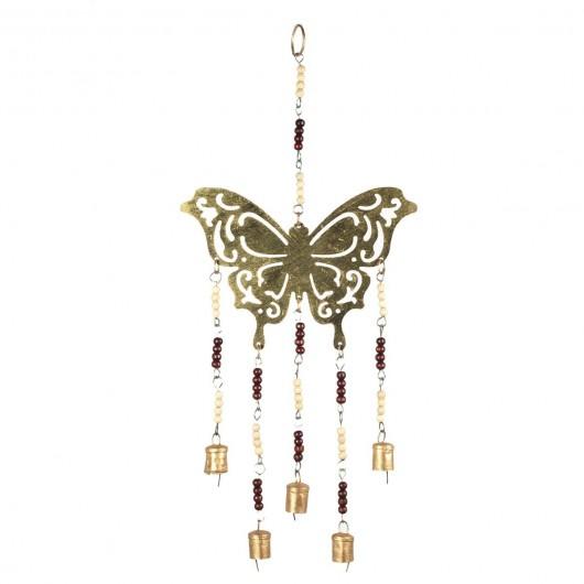 movil mariposa con campanas...